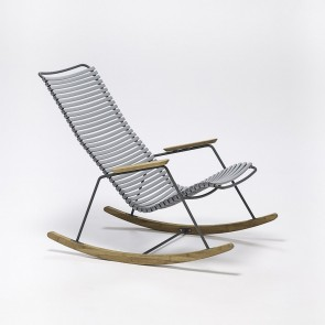 Click Rocking Chair, hellgrau