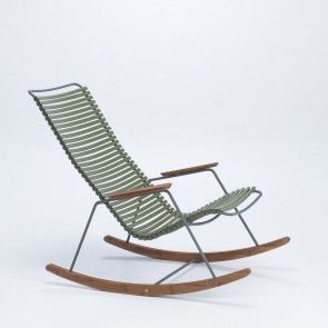 Click Rocking Chair, olivegrün