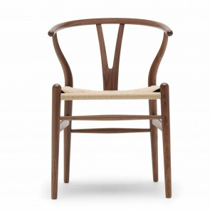 CH 24 Wishbone Chair, Walnuss